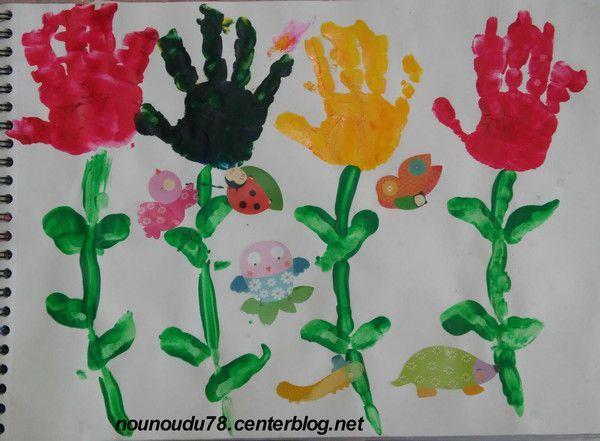 Activite printemps - Fleurs printemps maternelle ...