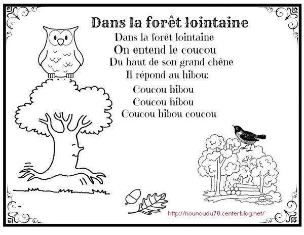 Dans la for t lointaine illustr e for Dans la foret