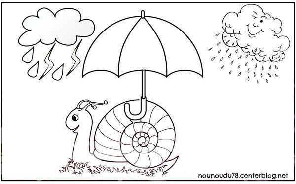 Coloriages automne - Image escargot a colorier ...