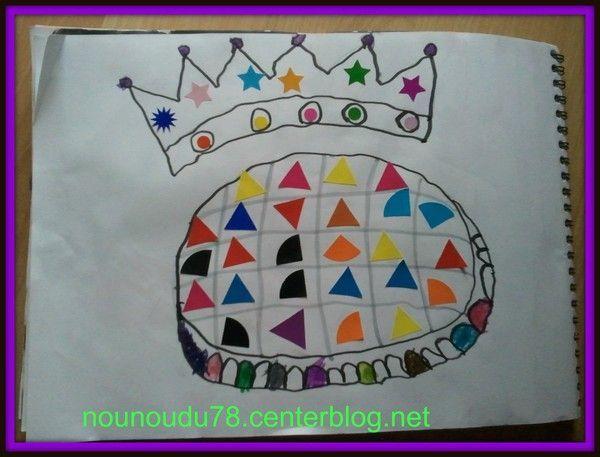 Activite couronne galette des rois - Couronne epiphanie maternelle ...