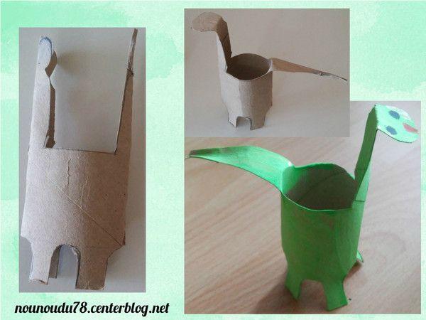 Activite avec rouleau sopalin papier wc - Activite avec papier crepon ...