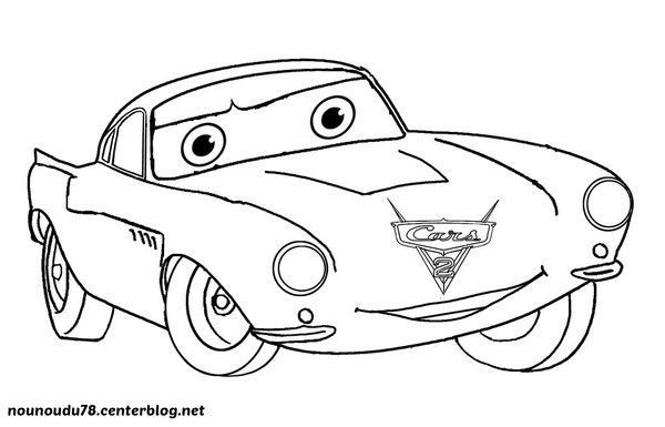 Coloriage cars - Car coloriage ...
