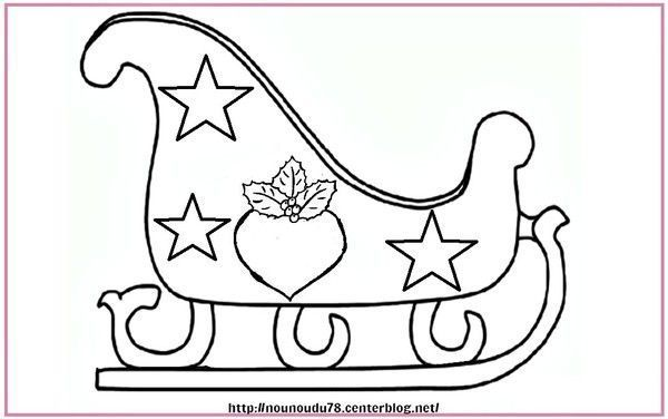 Coloriages noel - Dessin facile de noel ...