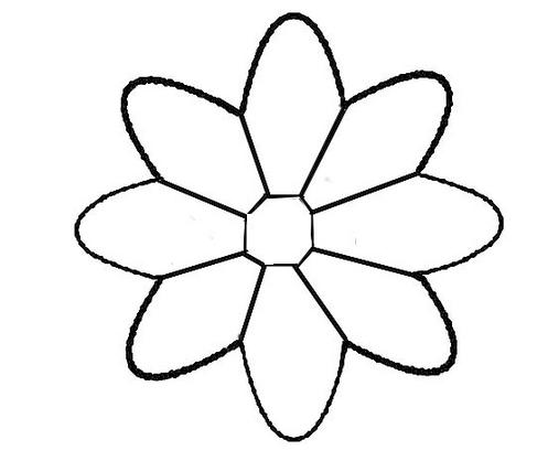Gabarit de la fleur de lotus - Photo de fleur a imprimer ...